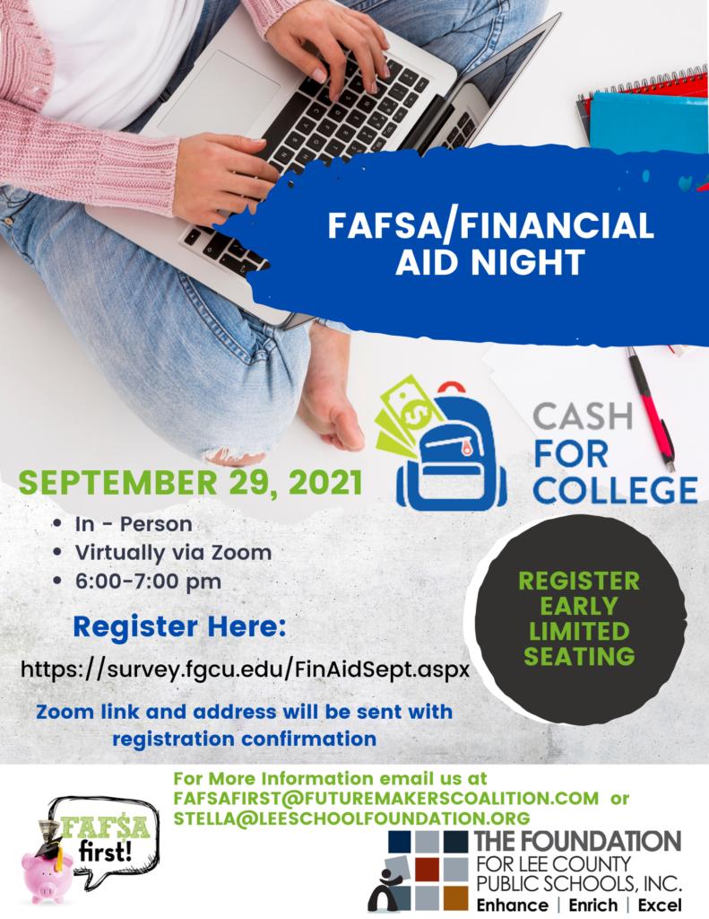 FALL FAFSA Flyer - Social